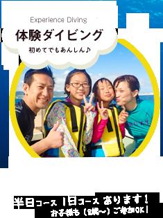 体験ダイビングを石垣島で!