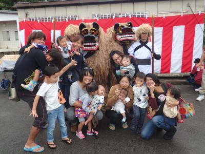 石垣島 獅子舞