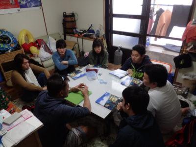 石垣島 ダイビング ライセンス講習 学生