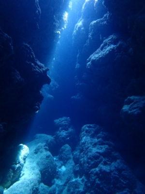 黒島 洞窟 ダイビング 海