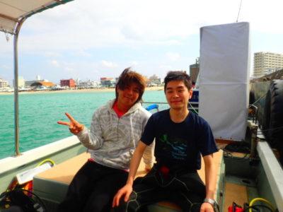 石垣島 体験ダイビング 海 船