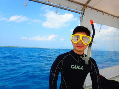 竹富島 体験ダイビング 海 船