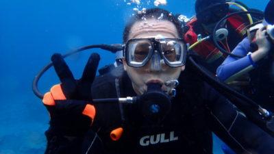 石垣島 体験ダイビング 家族旅行