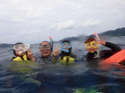 石垣島 シュノーケリング 体験ダイビング 家族旅行