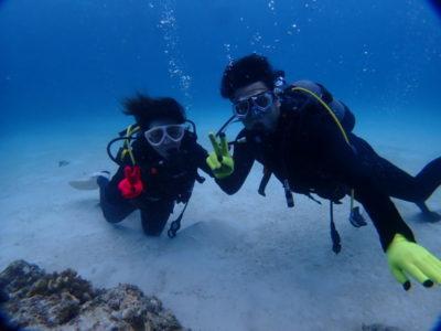 黒島 体験ダイビング