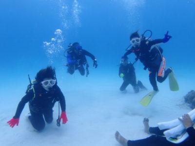 黒島 ファンダイビング 体験ダイビング